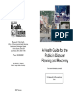 DisasterPlanning HealthGuide Booklet