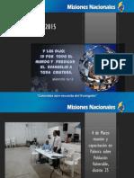 Informe Ministerio con Población Vulnerable - Primer Trimestre 2015
