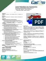 Caracterización Petrofísica de Yacimientos