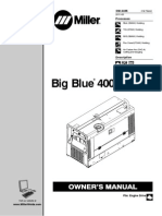 Manual Moto Soldadora Miller - ESP