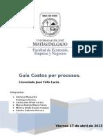 Guía 5 Costos Conjuntos y Subproductos