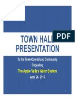 Town Hall Presentation