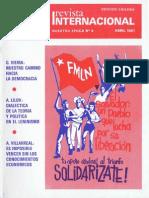 Revista Internacional - Nuestra Epoca N°4 - abril 1981 - Edición Chilena