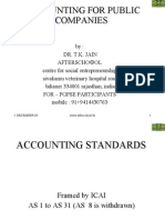 Accounting for Public Companies