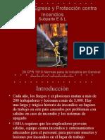 Medios de Egreso y Proteccion Contra Incendios