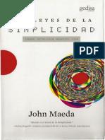 4.2Las Leyes de La Simplicidad John Maeda