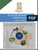 Plan Desarrollo Corporativo2010-2017 USB 2010