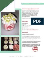 Popcorn Cupcake Directions