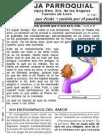 Hoja Parroquial Nº1487 de 10 mayo 2015
