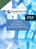 Dotación Equipamiento Microinformático