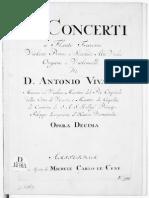 Vivaldi op 10 Flute solo