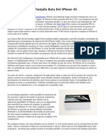Sustitucion De La Pantalla Rota Del IPhone 4S