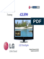 LG 42LH90 LED LCD  Training Manual