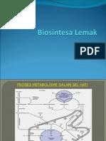 9. Biosintesa Lemak