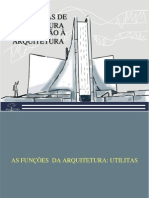 INTRODUÇÃO A ARQUITETURA Sistemas Vitruvianos -Utilitas