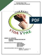 MANUAL DE CONVIVENCIA VIDA Y PAZ