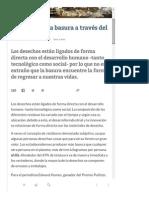El Camino de La Basura a Través Del Planeta - VeoVerde
