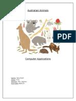 australian animals tara plant