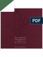 Manual Autoaplicación femenina