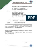 Informe de Campo Nº 001