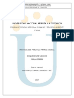 Protocolo Practicas Bioquimica Metabolica Version Marzo 2014