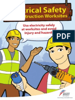 Electrical Safety at Worksite - English by