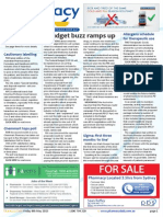 Pharmacy Daily for Fri 08 May 2015 - Budget buzz ramps up, PBS package not viable, Cautionary labelling, Events Calendar, and much more