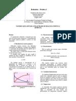 Relatório Cinética Química