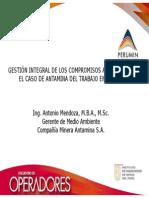 GESTIÓN INTEGRAL DE LOS COMPROMISOS AMBIENTALES