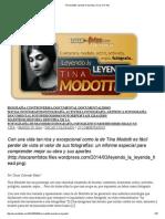 Tina Modotti_ Leyendo La Leyenda _ Oscar en Fotos