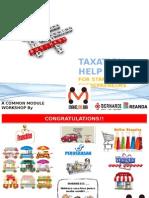 Module Tax Startups