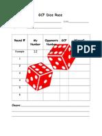 gcf dice race game