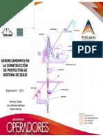 GERENCIAMIENTO EN LA CONSTRUCCIÓN DE PROYECTOS DE SISTEMA DE IZAJE