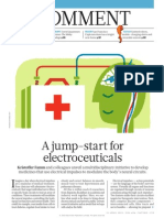 A Jump-start for Electroceuticals