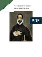 Poemas de Fernando de Herrera