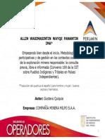 Empezando bien desde el inicio. Metodologías participativas y de gestión en los contextos sociales de la exploración minera responsable