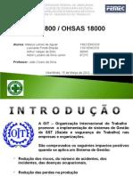 SEMINÁRIO OHSAS 18000