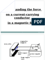 3.2 the Force on a Current Carrying Conductor