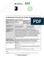 Formulario Peticion de Stand Para Fonda UAH 2012