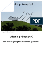 1 a What is Philosophy