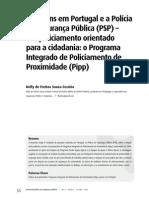 Os Jovens Em Portugal e a Polícia de Segurança Pública