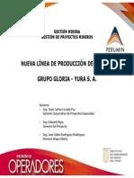NUEVA LÍNEA DE PRODUCCIÓN DE CLINKER GRUPO GLORIA - YURA S. A.