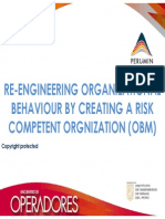 RE-ENGINEERING ORGANIZATIONAL BEHAVIOUR BY CREATING A RISK COMPETENT ORGNIZATION (OBM)