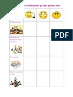 Rubrica de Evaluación en las  Practicas 1