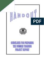 handout project