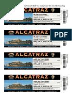 Alcatraz Voucher 2013