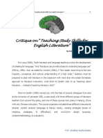 Teaching Study Skills for English Literature