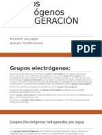 Grupos Electrógenos REFRIGERACIÓN