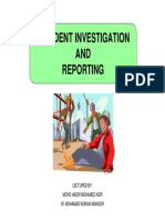 Chapter 5 Accident Investigation and Reporting