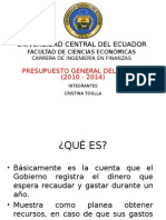 PGE ECUADOR UCE